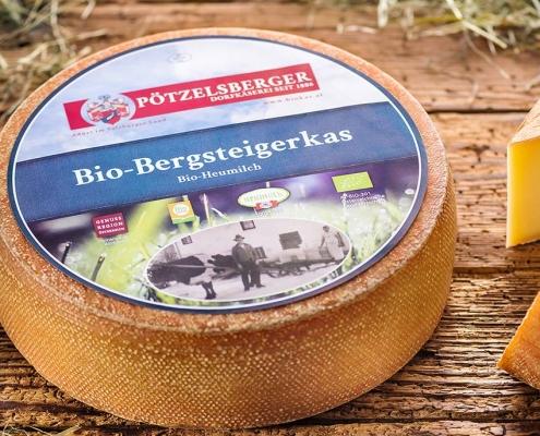 aromatischer Käse mit Bio-Heumilch